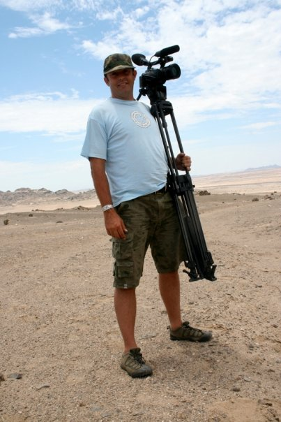 Doci film maker, Namibia