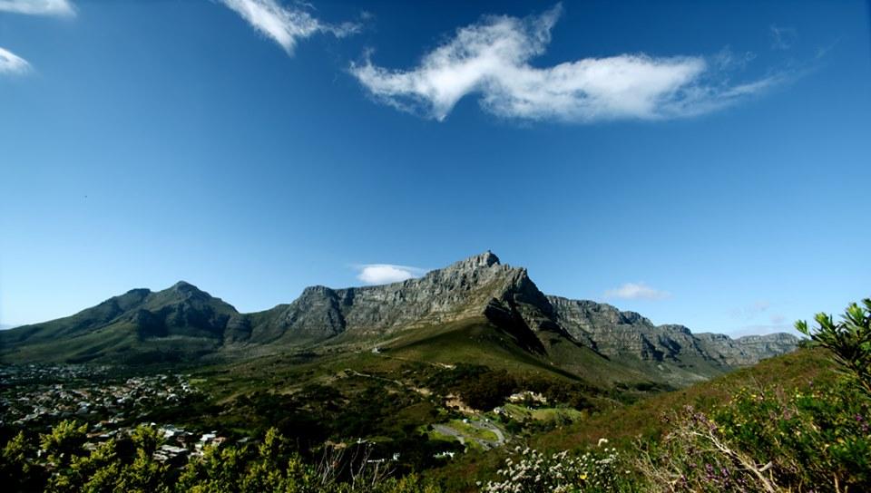 Table Mountain range.