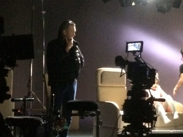 Great to work with DOP Sean Miros