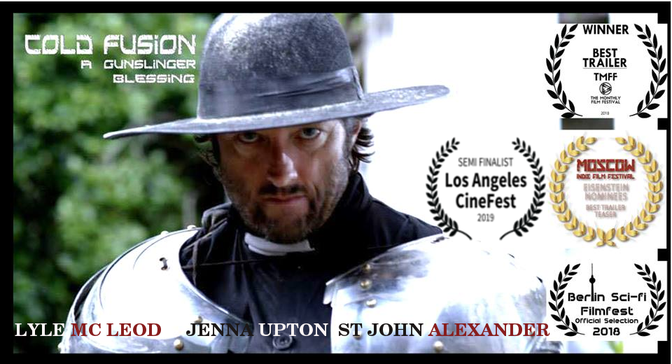 Cold Fusion Poster ft Lyle Mc Leod as Stone.