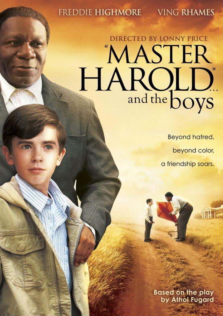 Master Harold & the boys poster