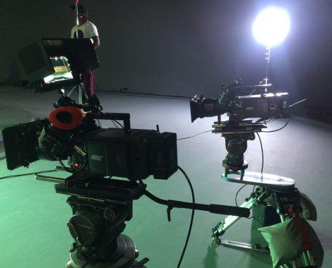 Digital Cinema camera operator Warrick Mc Leod